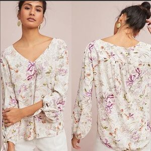 Maeve by Anthropologie Pernilla Blouse New Sz S